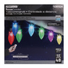 Gemmy Lightshow 48-Count Color Changing C9 LED Christmas String Lights