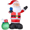 Holiday Living 14-ft Inflatable Fabric Christmas Giant Santa
