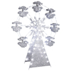 Gemmy Lighted Outdoor Christmas Decoration with White Multi-Function Lights