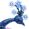Gemmy Lighted Peacock Outdoor Christmas Decoration with Multicolor Constant LED Lights