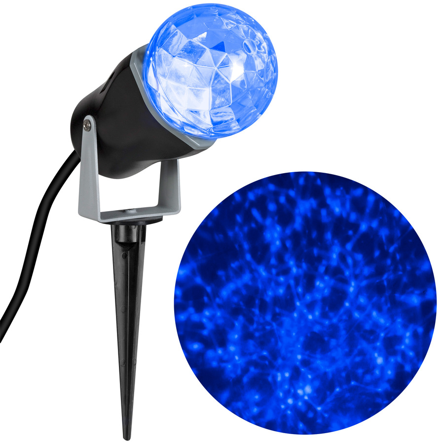 Shop Gemmy 1 Piece 0 85 Ft Lightshow Projection Stake