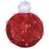 Gemmy Lighted Outdoor Christmas Decoration with Red Constant Lights