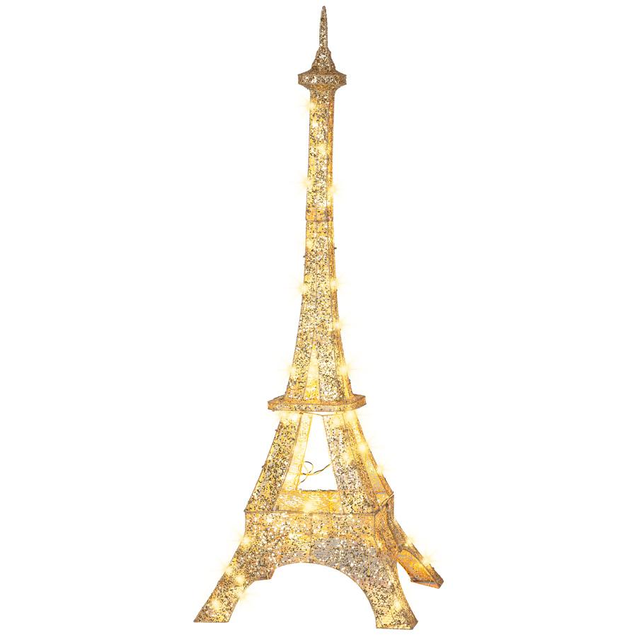 Christmas Eiffel Tower Decor Lowes