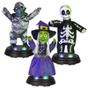 Gemmy 13.386-in Lighted Musical Animatronic Tabletop Assorted Ravers Indoor Halloween Decoration