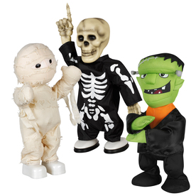 Gemmy 12.205-in Lighted Musical Animatronic Tabletop Assorted Dancers Indoor Halloween Decoration