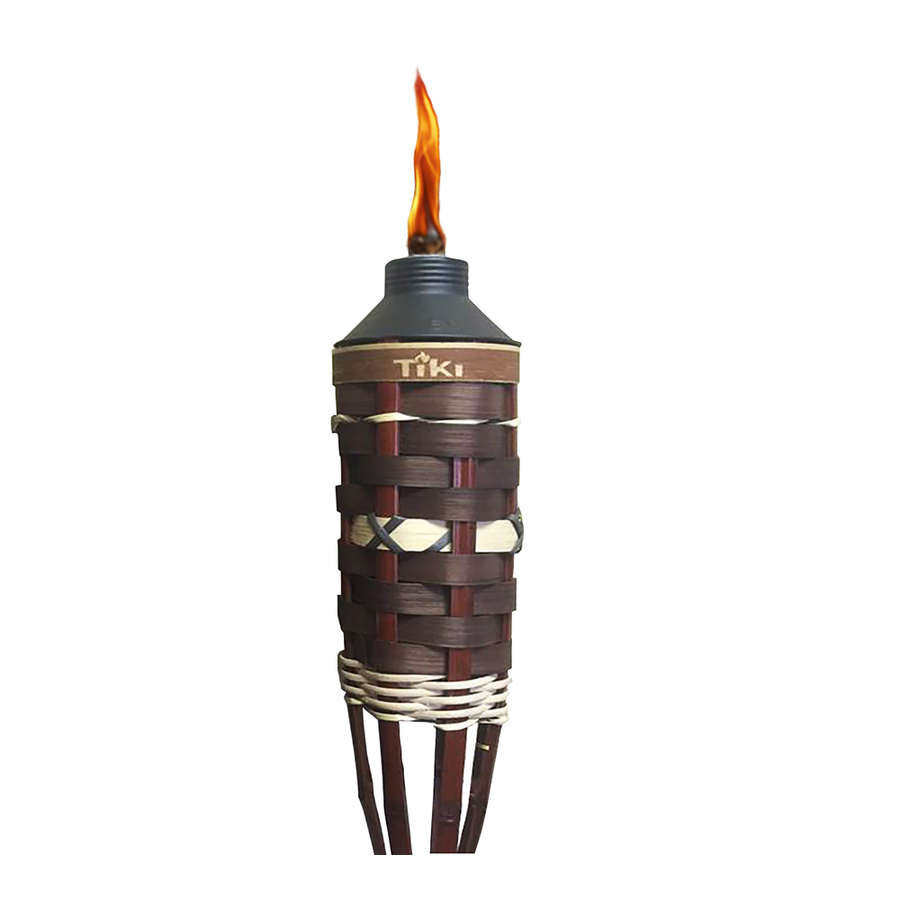 Backyard Tiki Torches : Shop TIKI 60in Outdoor Bamboo Torch at Lowescom
