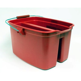 Rubbermaid Commercial Products 19-Quart Plastic Double Bucket