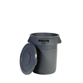 Rubbermaid 44-Gallon Gray Outdoor Garbage Can
