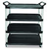 Rubbermaid Commercial Products 51-in 0-Drawer Utility Cart