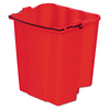Rubbermaid Commercial Products 18-Quart Plastic Mop Wringer Bucket