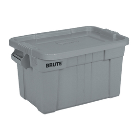 Rubbermaid Commercial Products Brute 20-Gallon Tote with Standard Snap Lid