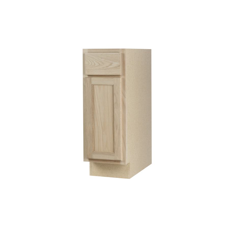 Shop continental cabinets inc 15 in w x 34 5 in h x 24 - Lowes unfinished kitchen cabinets ...