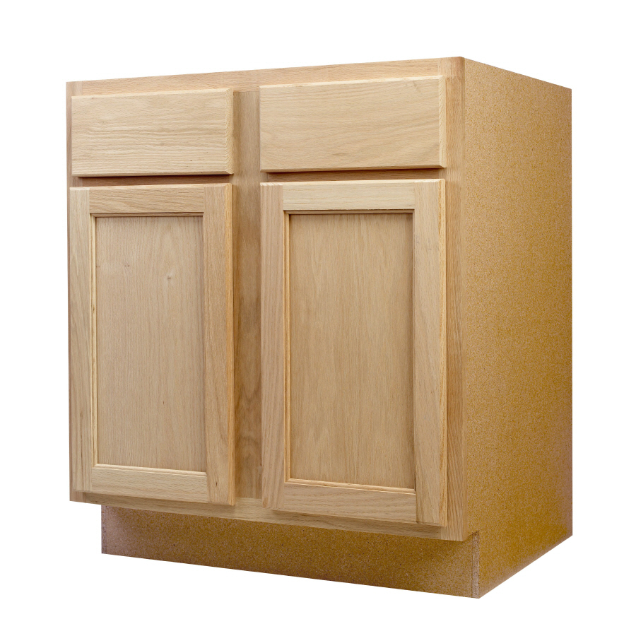 Shop continental cabinets inc 30 in w x 34 5 in h x 24 for Sink furniture cabinet