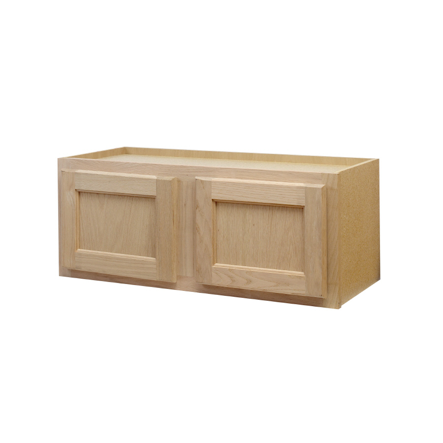 Shop continental cabinets inc 30 in w x 12 in h x 12 in for Kitchen wall cabinets
