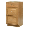 allen + roth Castlebrook 34-1/2-in H x 18-in W x 21-in D Natural Storage Cabinet