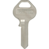 The Hillman Group Brass Padlock Key Blank