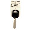 The Hillman Group Brass Automotive Key Blank