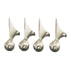 KOHLER Vibrant Brushed Nickel Bathtub Feet