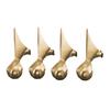 KOHLER Vibrant Brushed Bronze Bathtub Feet