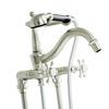 KOHLER Antique 2-Handle Fixed Deck Mount Bathtub Faucet