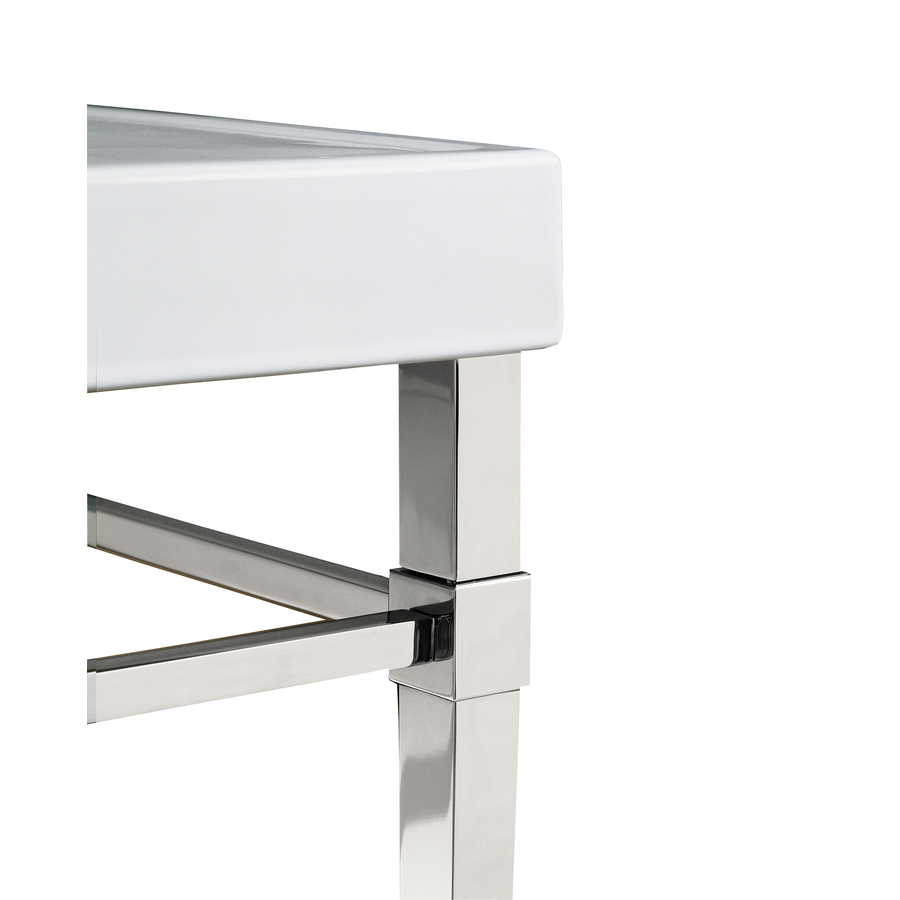 New Ana White  25quot Turned Leg Bathroom Vanity  DIY Projects