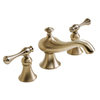 KOHLER Revival Vibrant Brushed Bronze 2-Handle Widespread WaterSense Bathroom Sink Faucet (Drain Included)