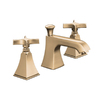 KOHLER Memoirs Vibrant Brushed Bronze 2-Handle Widespread WaterSense Bathroom Sink Faucet (Drain Included)
