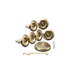 KOHLER Brushed Bronze Flexjet Whirlpool Trim Kit