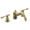 KOHLER IV Georges Brass Vibrant Brushed Bronze 2-Handle Fixed Deck Mount Tub Faucet