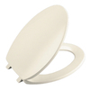 KOHLER Brevia Almond Plastic Round Toilet Seat