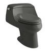 KOHLER San Raphael Thunder Grey 1.6-GPF (6.06-LPF) 12 Rough-In Elongated Standard Height Toilet