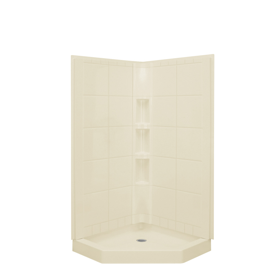 Shop Sterling Vikrell Corner Shower Kit At