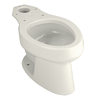 KOHLER Wellworth Chair Height Biscuit 12-in Rough-In Elongated Toilet Bowl