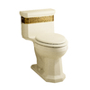 KOHLER Saree Biscuit 1.6 GPF Elongated 1-Piece Toilet