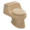 KOHLER San Raphael Mexican Sand 1.6-GPF (6.06-LPF) 12-in Rough-in Round Standard Height Toilet