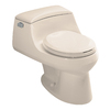 KOHLER San Raphael Innocent Blush 1.6 GPF Round 1-Piece Toilet