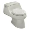 KOHLER San Raphael 1.6-GPF (6.06-LPF) 12-in Rough-in Round Standard Height Toilet