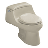 KOHLER San Raphael Sandbar 1.6-GPF (6.06-LPF) 12-in Rough-in Round Standard Height Toilet