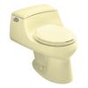 KOHLER San Raphael Sunlight 1.6-GPF/6.06-LPF 12-in Rough-in Round 1-Piece Standard Height Toilet