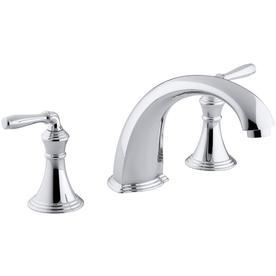 KOHLER Devonshire Polished Chrome 2-Handle Bathtub Faucet Bathtub Faucet Trim Kit