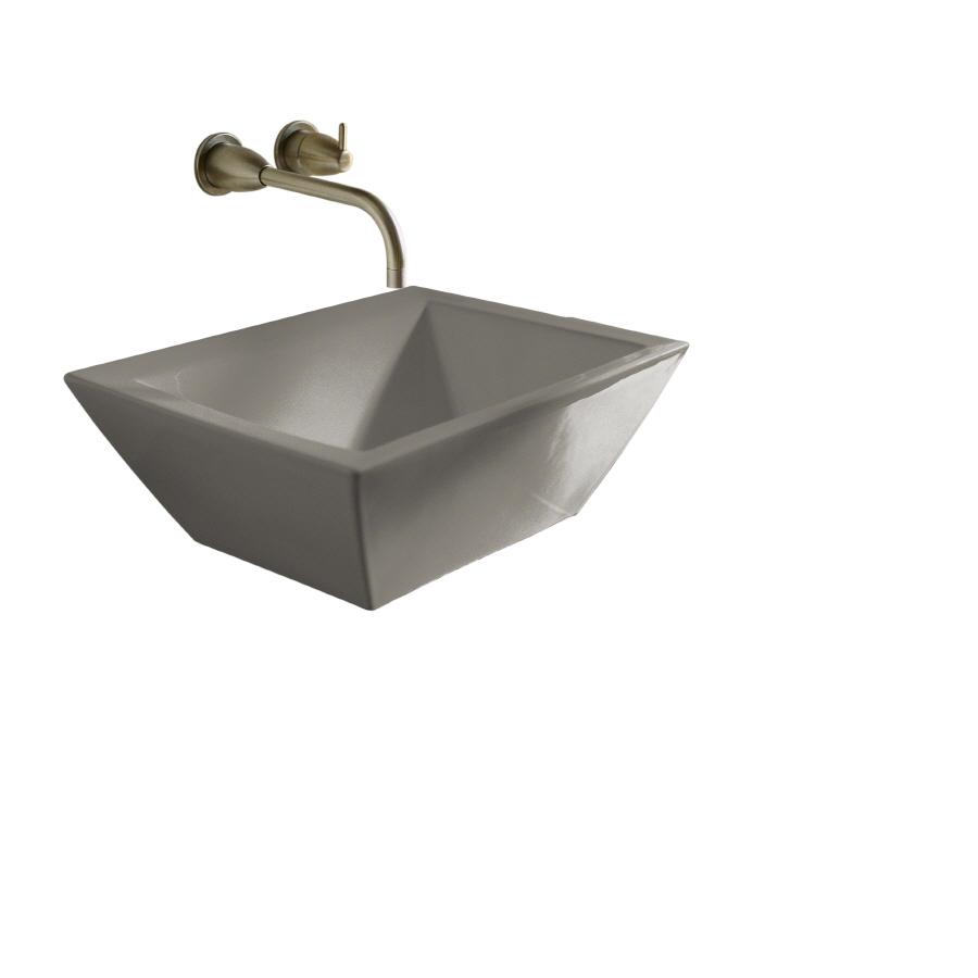 Kohler Vessel Sinks : Shop KOHLER 5.75-in D Cashmere Vitreous China Vessel Sink at Lowes.com