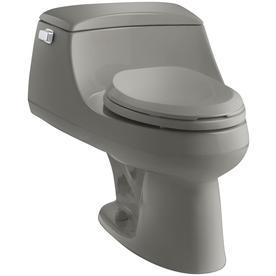KOHLER San Raphael Cashmere 1.6-GPF (6.06-LPF) 12-in Rough-In Elongated 1-Piece Standard Height Toilet