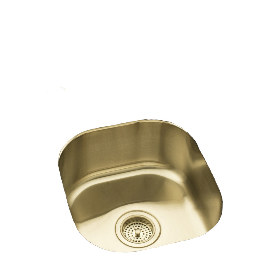 ... 18-Gauge Single-Basin Undermount Stainless Steel Bar Sink at Lowes.com