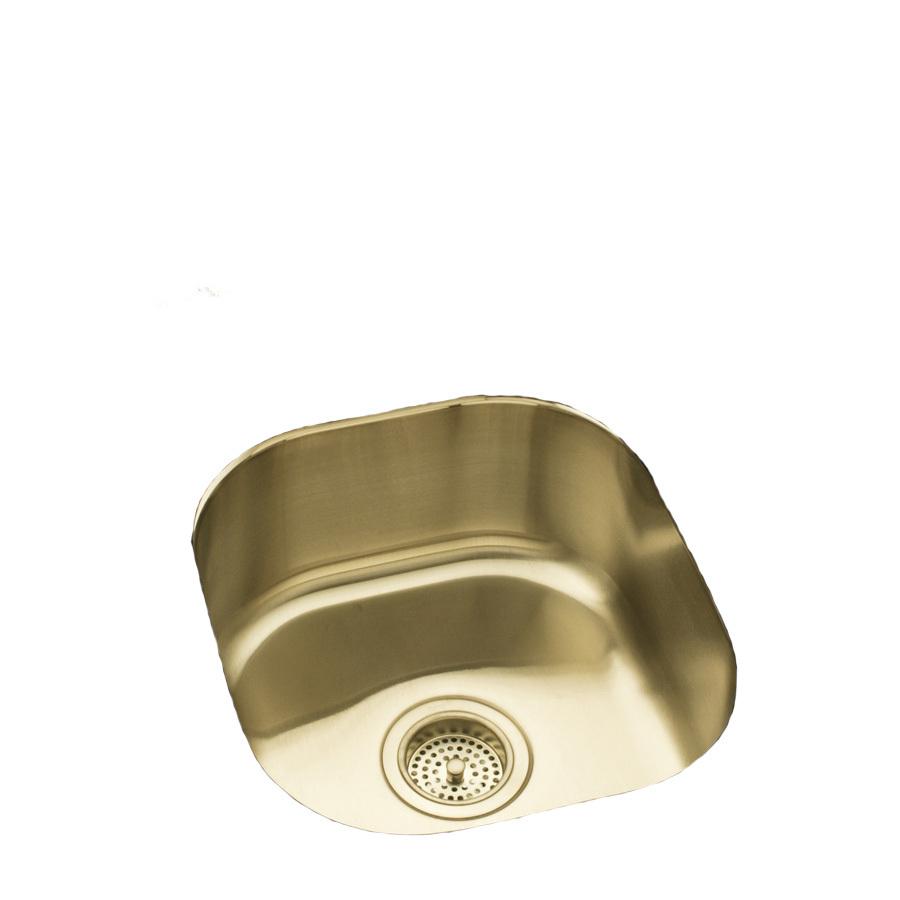 Kohler Bar Sink : KOHLER Undertone 18-Gauge Single-Basin Undermount Stainless Steel Bar ...