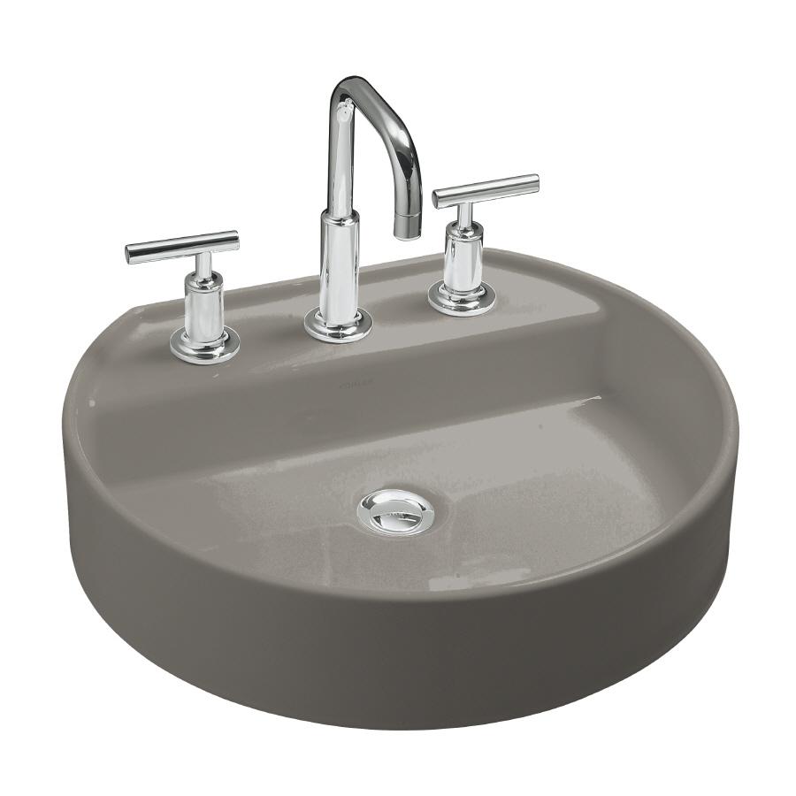 Kohler Vessel Sinks : Shop KOHLER 3.75-in D Cashmere Vitreous China Vessel Sink at Lowes.com
