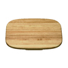 KOHLER 16-7/8-in L x 11-5/8-in W Wood Cutting Board
