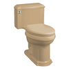 KOHLER Devonshire Mexican Sand 1.6 GPF Elongated 1-Piece Toilet