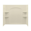 Sterling Ensemble 60-in W x 33-1/4-in D x 55-1/4-in H Almond Fiberglass Bathtub Wall Surround