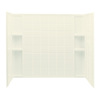 Sterling Vikrell Bathtub Wall Surround (Common: 34-in x 60-in; Actual: 54-in x 33.25-in x 60-in)
