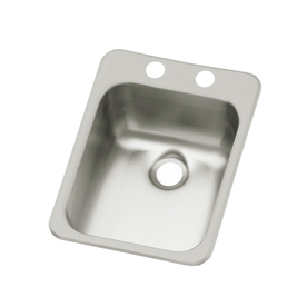 Drop In Stainless Steel Utility Sink : Shop Sterling Drop-In Stainless Steel Bar Sink at Lowes.com